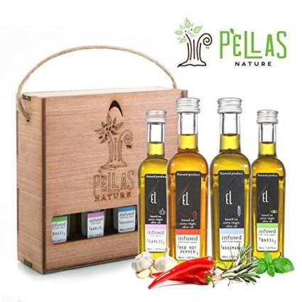 Pellas Nature Organic Herb Infused Olive Oil Set