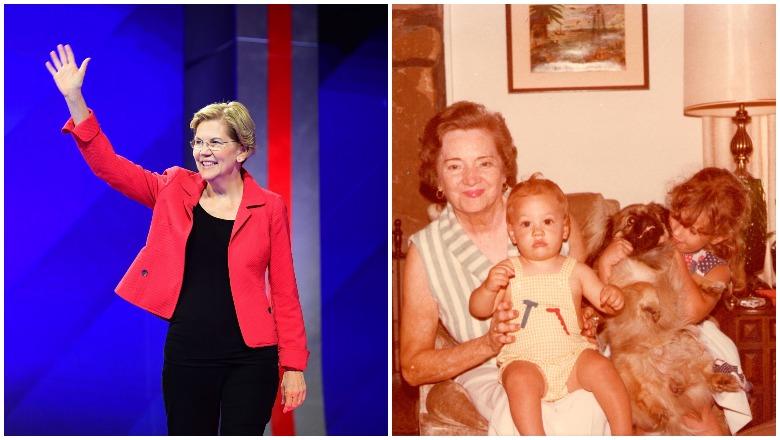 Elizabeth Warren and Aunt Bee