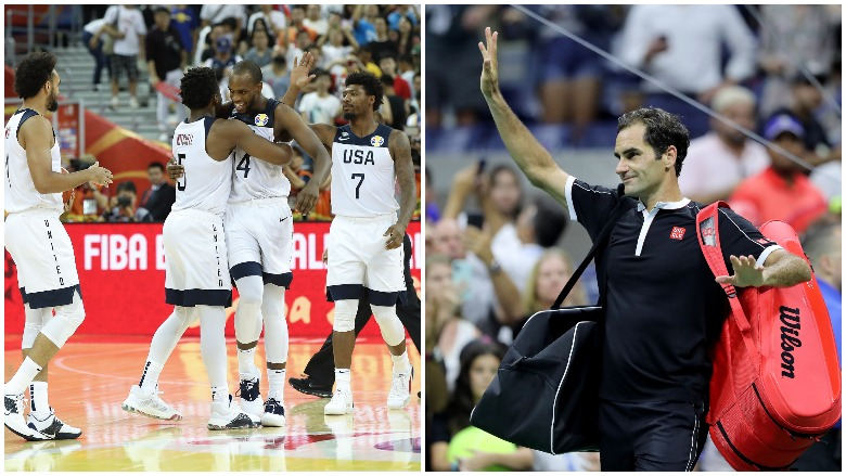 Team USA survived an overtime thriller at the FIBA World Cup and Roger Federer loses a five-set stunner at the U.S. Open.