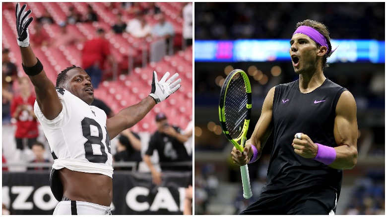 Antonio Brown is now expected to play Monday night and Rafael Nadal rolls to semifinal round win at the U.S. Open.