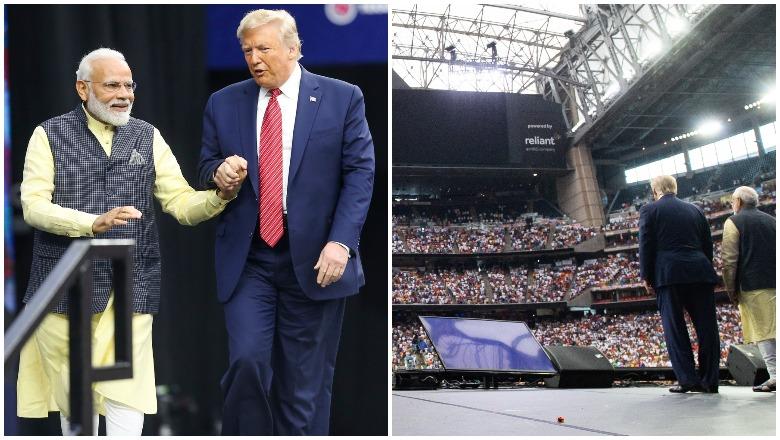 Howdy Modi and Trump