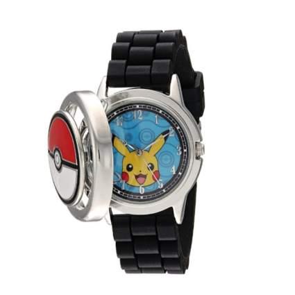 Pokemon Men's Analog-Quartz Watch with Silicone Strap