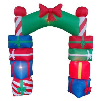 present arch commercial christmas decorations