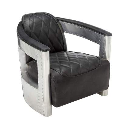 pulaski aviation style chair aviation gifts