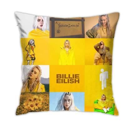 QuanliXiy Billie Eilish Throw Pillowcase Cover Zipper Closure