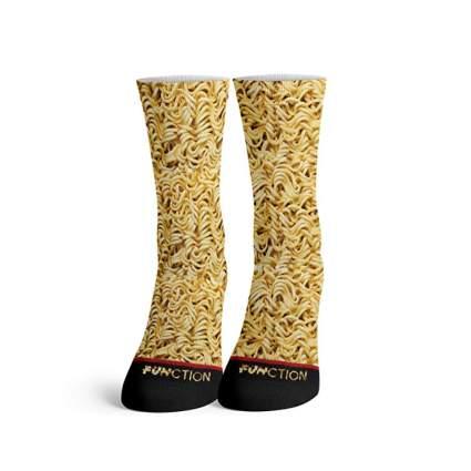 realistic ramen gifts socks