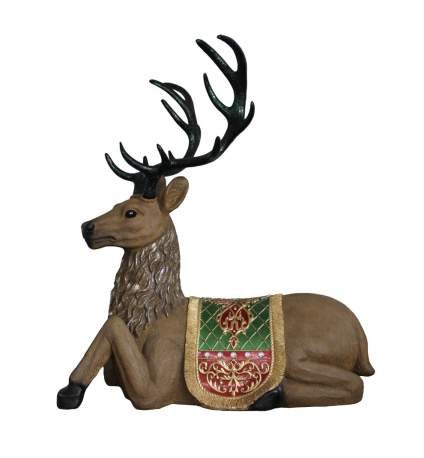 reindeer statue commercial christmas decorations