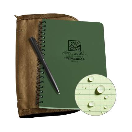 rite in the rain notebook kit firefighter gifts