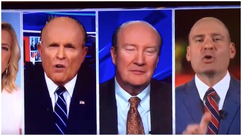 Rudy Giuliani Shut Up Moron