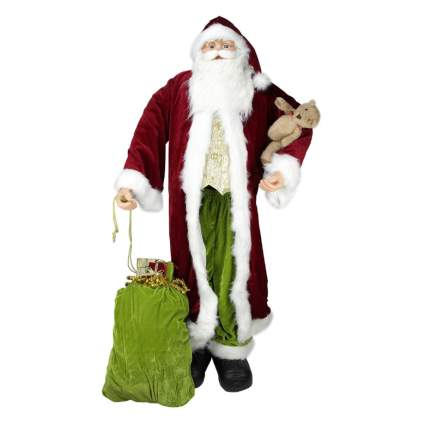 santa commercial christmas decorations