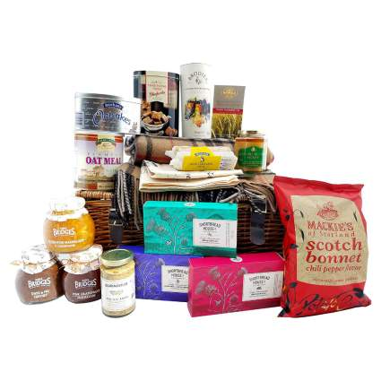 Scottish Gourmet Food and Snack Gift Basket