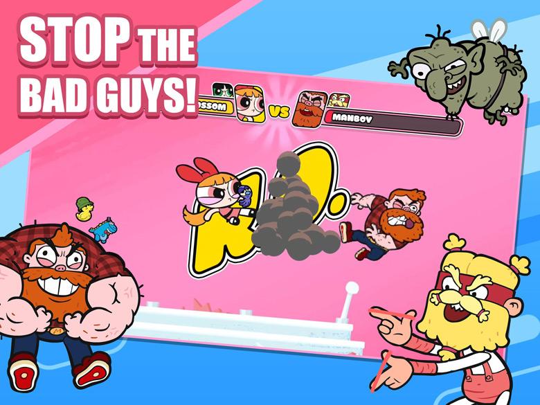 Powerpuff Girls Monkey Mania
