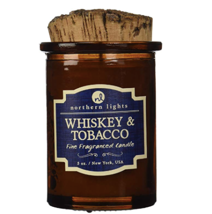 Northern Lights Candles Whiskey & Tobacco