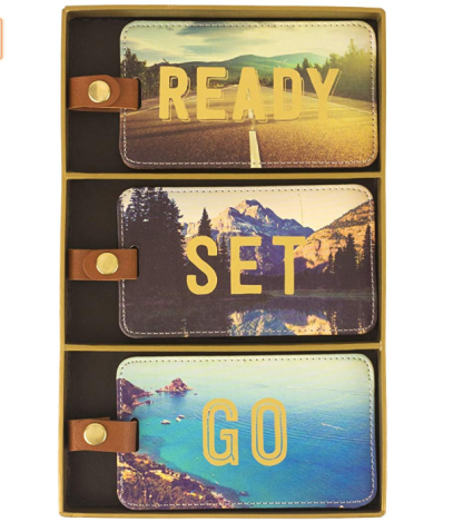 Eccolo World Traveler Luggage Tags