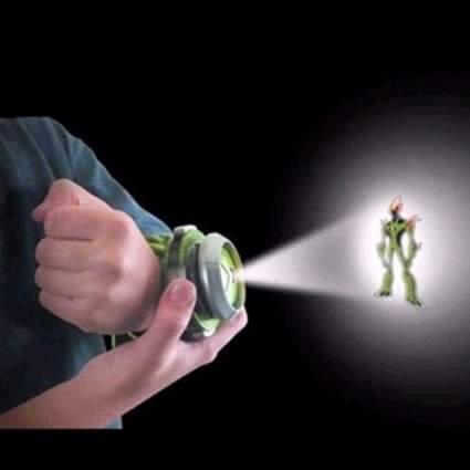 SKYZONAL Alien Force Omnitrix Illumintator Projector Watch Toy Gift for Child