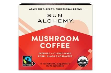 sun alchemy mushroom coffee