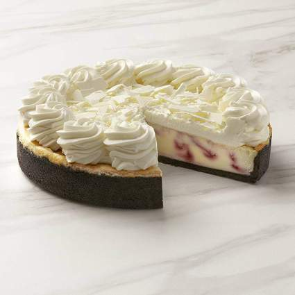 The Cheesecake Factory White Chocolate Raspberry Cheesecake - 2 Pack