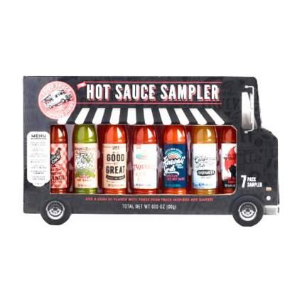 The Modern Gourmet Food Truck Foodie Finds Hot Sauce Sampler