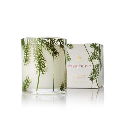 thymes fraser fir christmas candles
