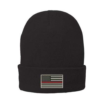 trendy apparel shop thin red line beanie firefighter gifts