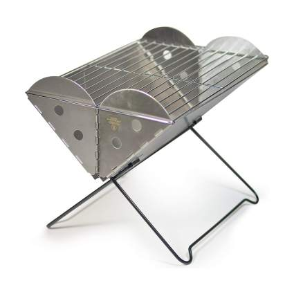 UCO Flatpack Portable Stainless Steel Grill & Fire Pit