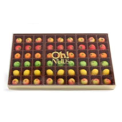 Oh! Nuts Gourmet Marzipan Candy Fruits Basket