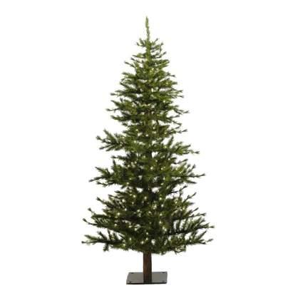 Alpine style christmas tree