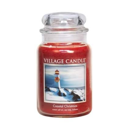 village candle coastal christmas candle