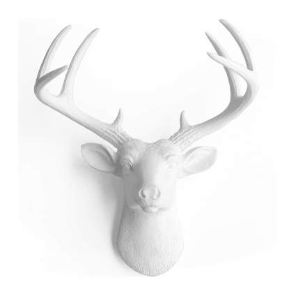 wall charmers deer head