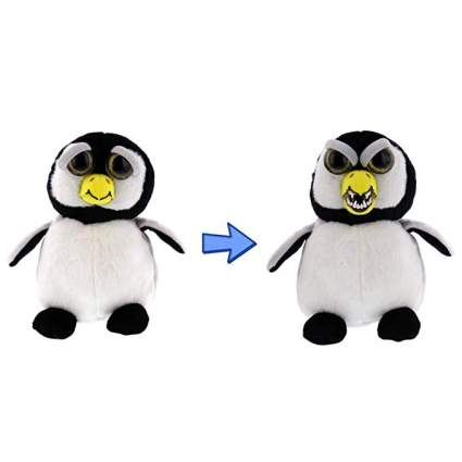 Penguin plushie that turns into an angry penguin
