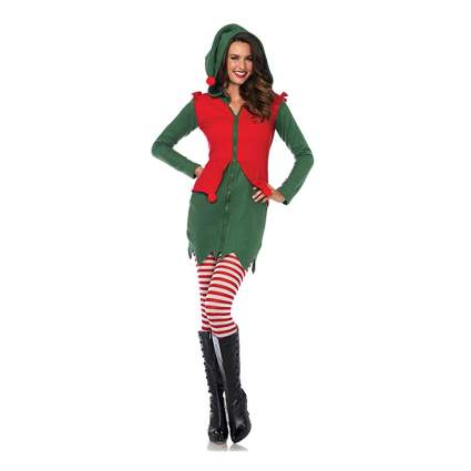 cozy elf costume