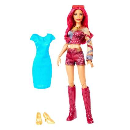 WWE Superstars Sasha Banks Doll & Fashion
