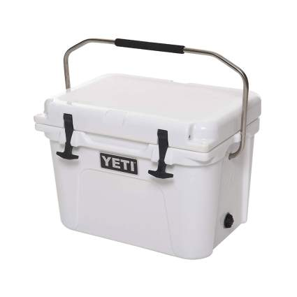 white yeti rotomolded cooler