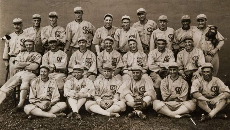1919 chicago white sox baseball gambling