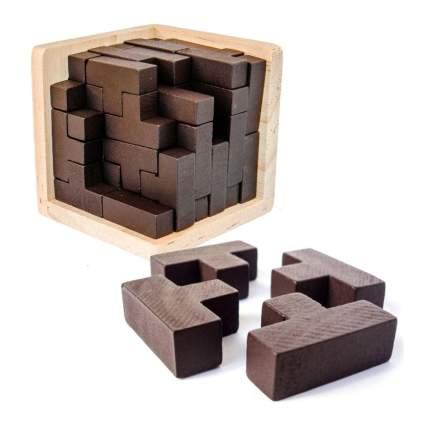 3D Wooden Brain Teaser
