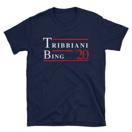 oey Tribbiani Chandler Bing 2020 Tshirt