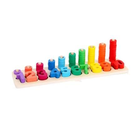 Montessori Wood Stacking Toy