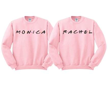 Monica and Rachel BFF Duo Sweatshirt