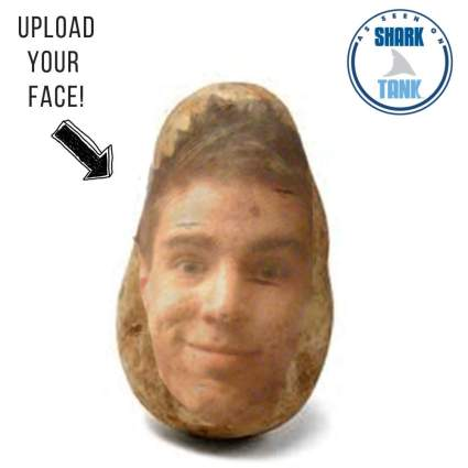 Potato Pal - Your FACE on a Real Potato