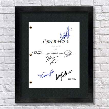 Friends TV Cast Autographed Signed Reprint