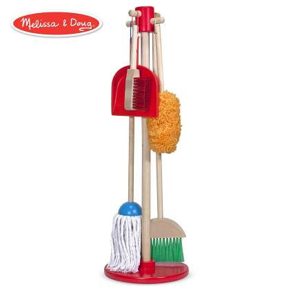 Melissa & Doug, Let's Play House! Dust! Sweep! Mop! Pretend Play Set