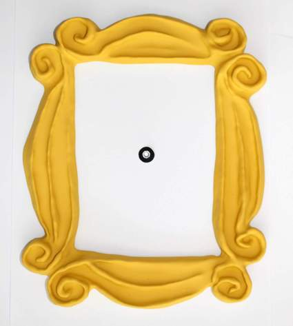 Peephole Yellow Frame as seen in Friends