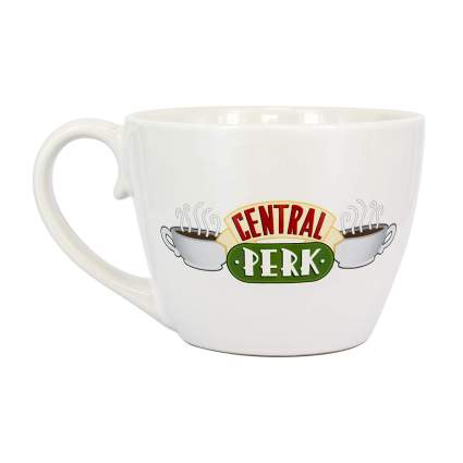 Friends TV Show Central Perk Cappuccino Mug
