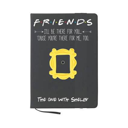 personalized friends notebook