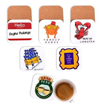 Friends TV Show Coaster Set