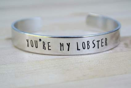 You're My Lobster Bracelet