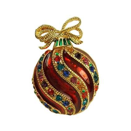 fancy ornament Christmas brooch