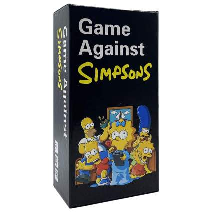 Cards Game Against Simpsons