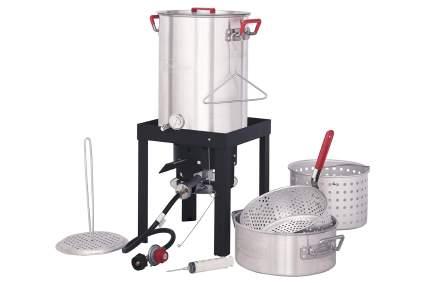 CreoleFeast 30-Quart 50,000 BTU Turkey Fryer