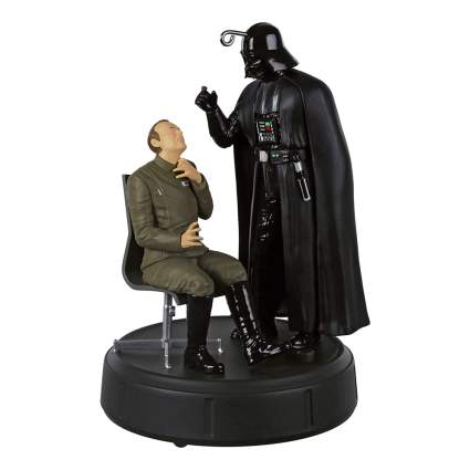 Darth Vader choking Admiral Motti Ornament